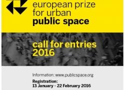 2016 European Prize for Urban Public Space Call for Entries